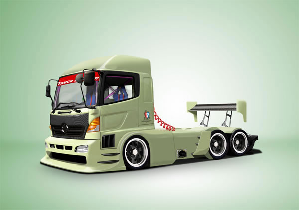 Create a Pimped Out Truck Using Photoshop