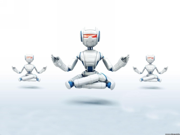 Digital Yoga Robots