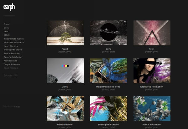 cargo collective 25 Excellent Examples of CSS In Background