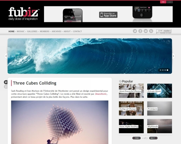 fubiz 25 Excellent Examples of CSS In Background