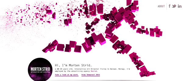 mortenstrid 25 Excellent Examples of CSS In Background
