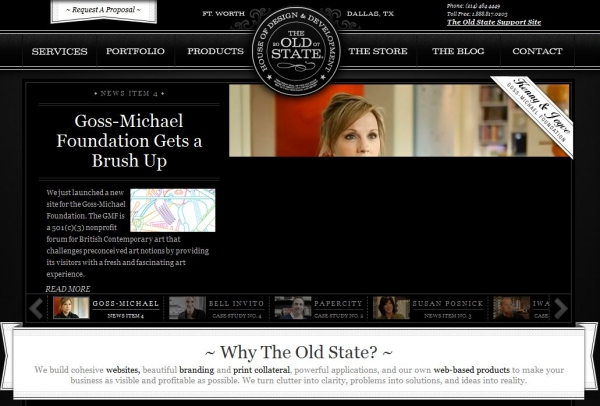 the old state 25 Excellent Examples of CSS In Background