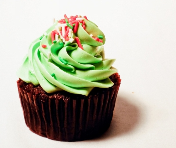 Chocolate Mint Cupcake