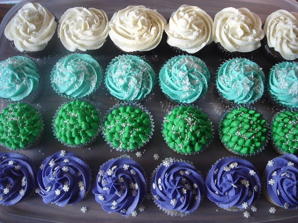 Several Flavour Cupcakes