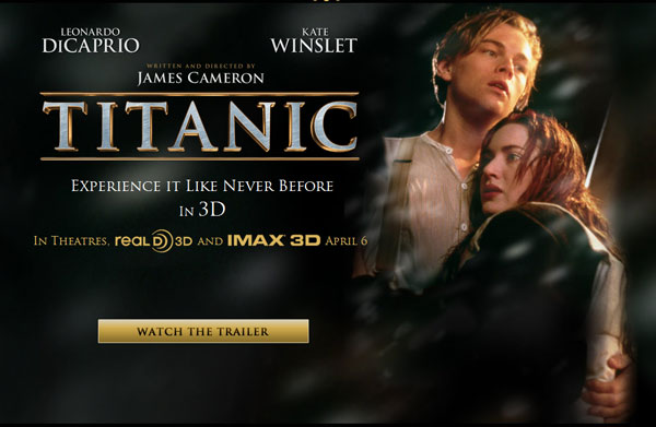 3D version of Titanic