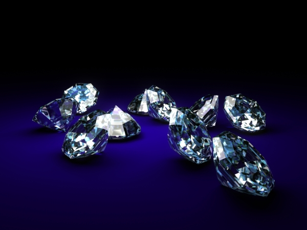 Shiney Diamonds