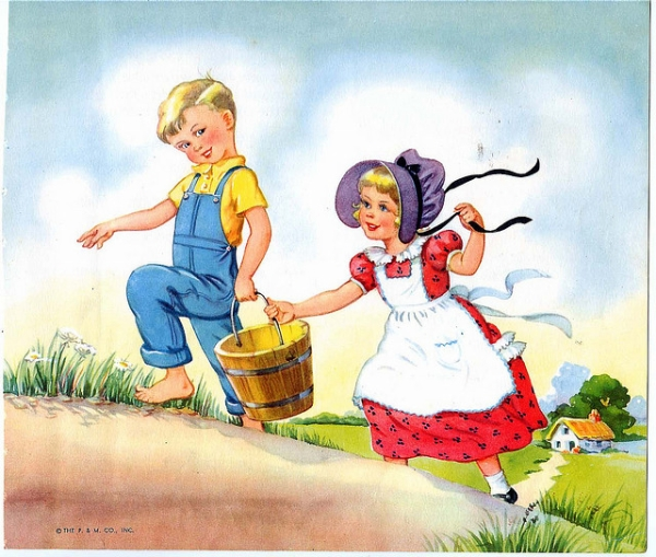 jack and jill 20 Cool Fairy Tale Characters