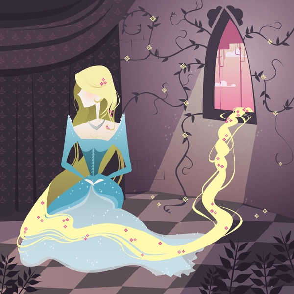 rapunzel the beautiful 20 Cool Fairy Tale Characters