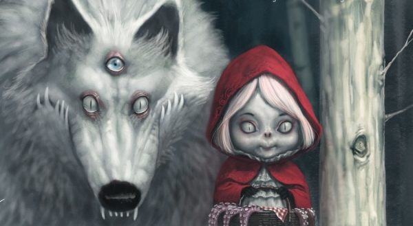 red riding hood 20 Cool Fairy Tale Characters
