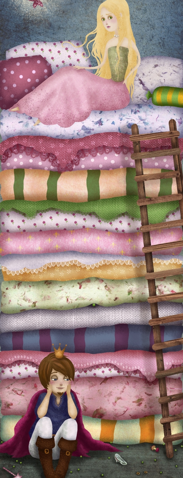 the princess and the pea 20 Cool Fairy Tale Characters