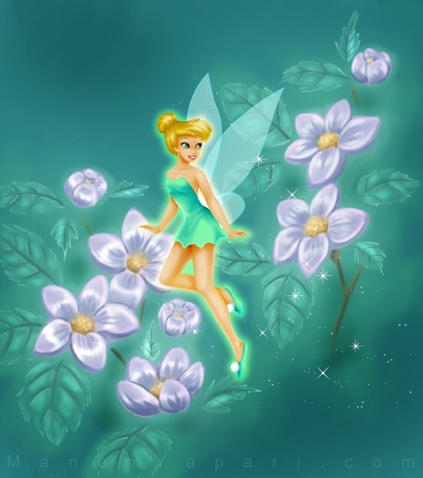 Tinker Bell The Cute Fairy
