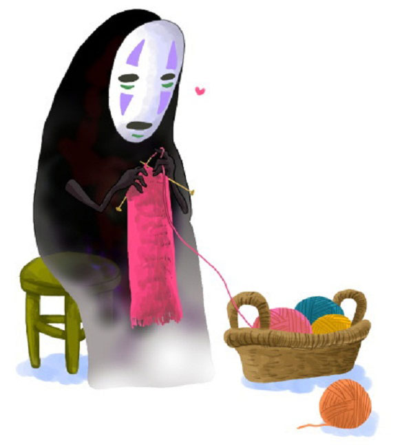 No face loves to Knit