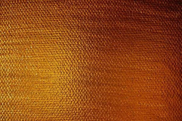 Gold Paint On Canvas