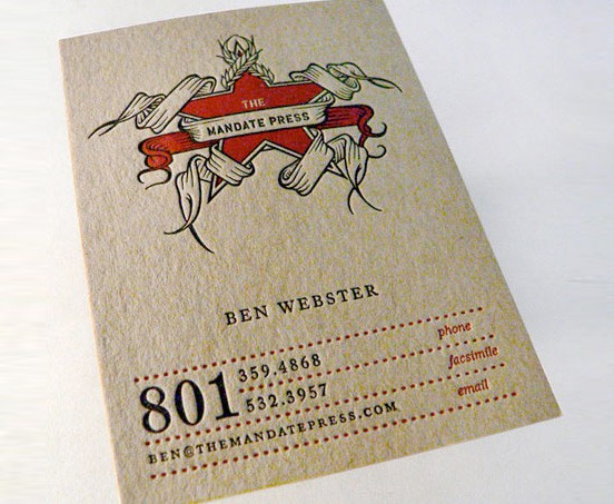 801 Business Card