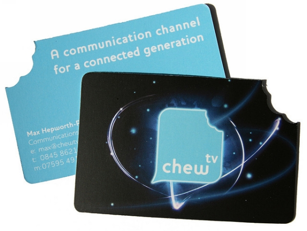 Chew TV Business Card