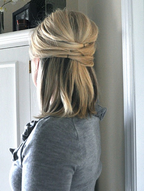 Easy Half Up Hairstyles For Straight Hair Down Wedding