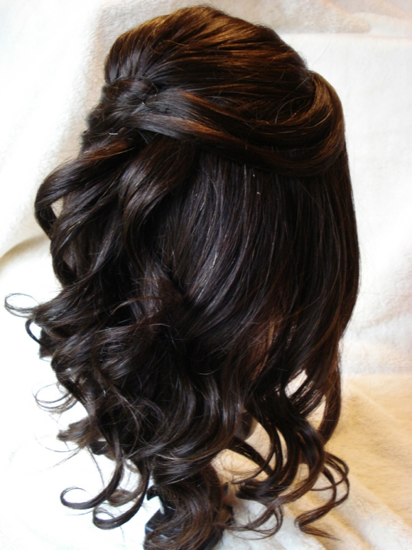 Fabulous 30 Half Up Half Down Hairstyles You Should Try Slodive Short Hairstyles Gunalazisus