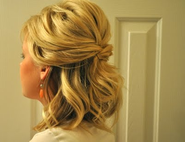 Half Up to Full Updo