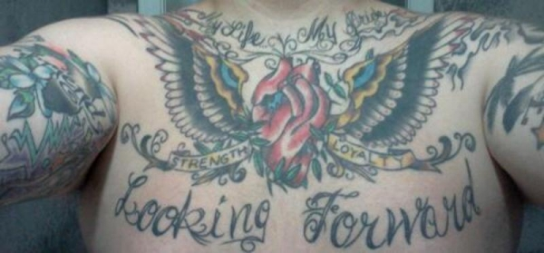 my life my pride 30 Awe Inspiring Heart With Wings Tattoos