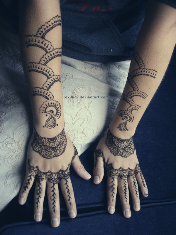 amazing henna design 25 Excellent Henna Tattoo Designs