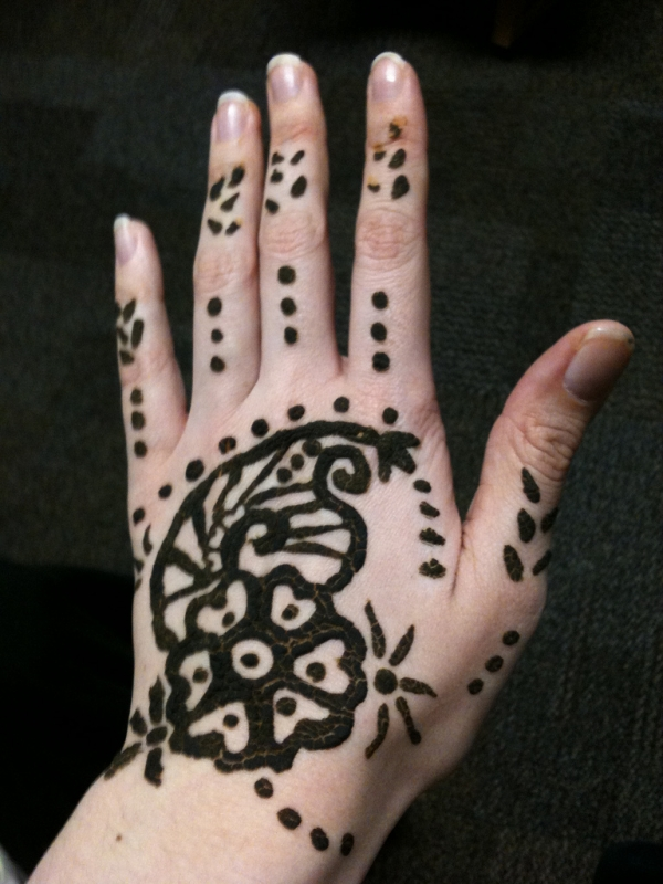 left hand henna design 25 Excellent Henna Tattoo Designs
