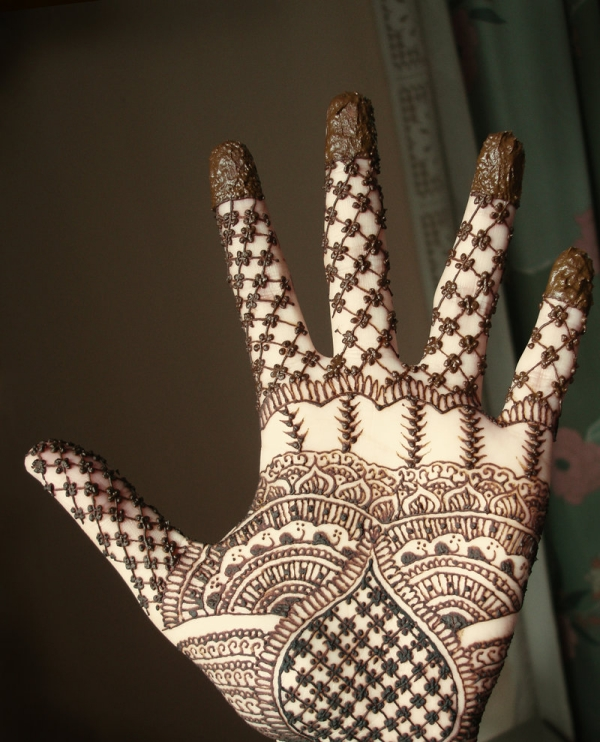 palm henna design 25 Excellent Henna Tattoo Designs