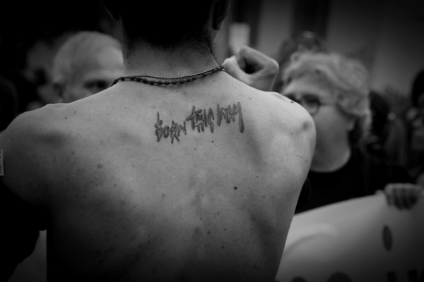 Gaga Quote Tattoo
