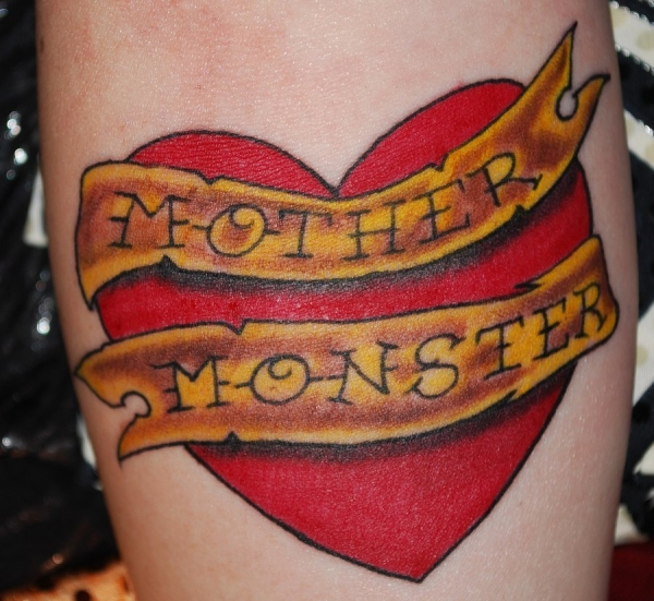 Mother Monster Gaga Tattoo