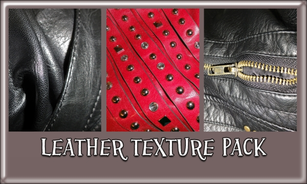 Loud leather Texture Set