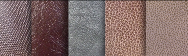 Multiple Leather Textures