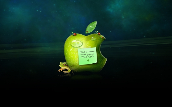 apple and frog 50 Mac Backgrounds You Gotto Check Today