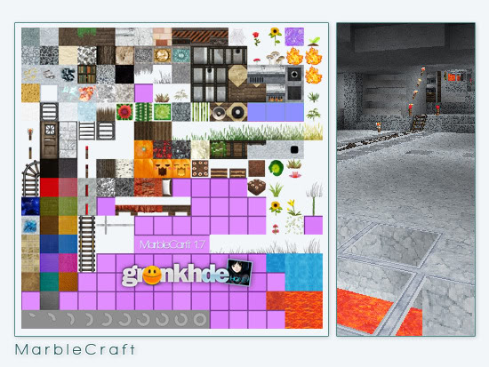 Honeyball MK marble Texture Pack 1.7