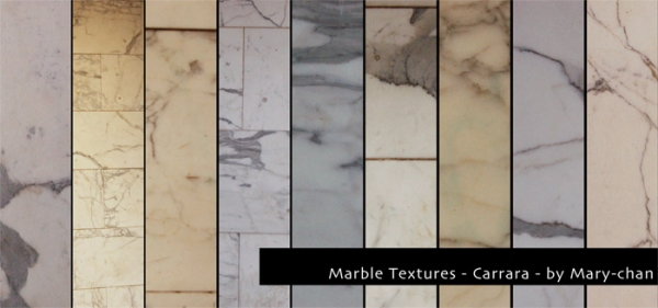 Mary-Chan Marble Textures