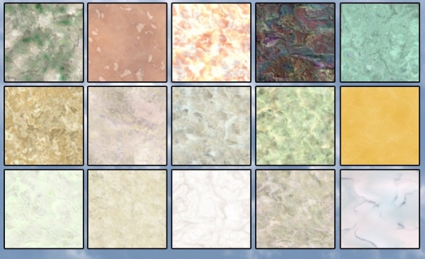 Multiple Marble Patterns