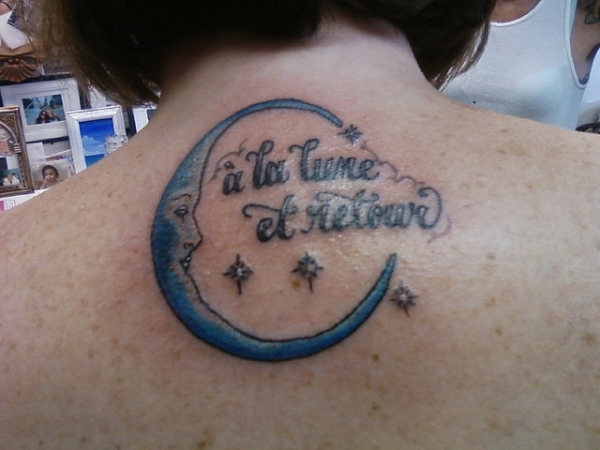 To The Moon And BackI Love You To The Moon And Back Tattoo Ideas