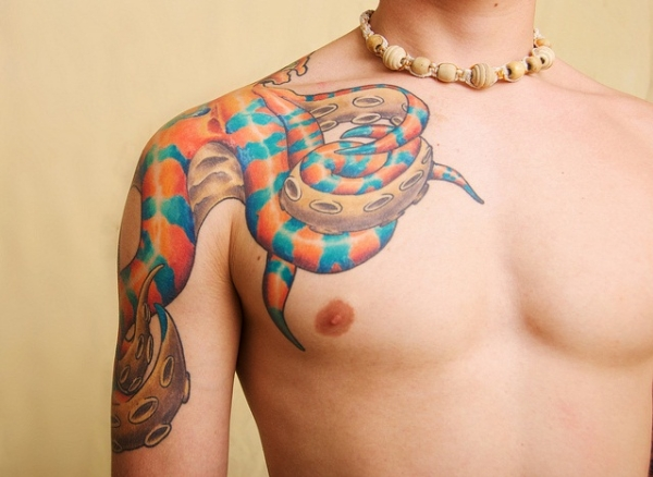 tentacles of octopus 15 Amazing Octopus Tattoo Designs