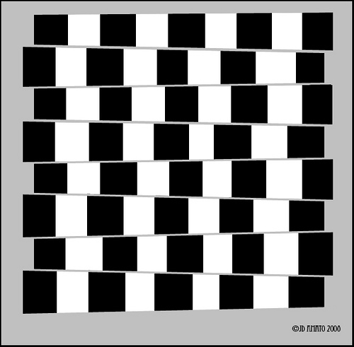 are they parallel 35 Mind Bending Optical Illusions Pictures