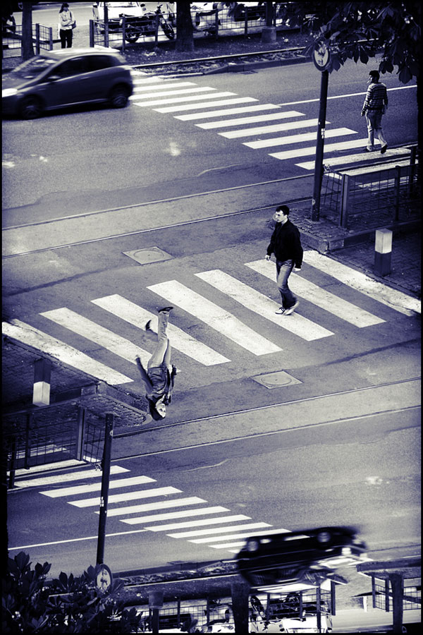 Illusion In The Street