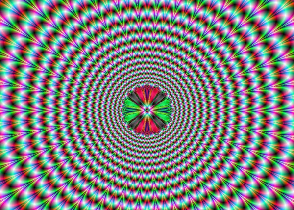 pulsing vortex 35 Mind Bending Optical Illusions Pictures