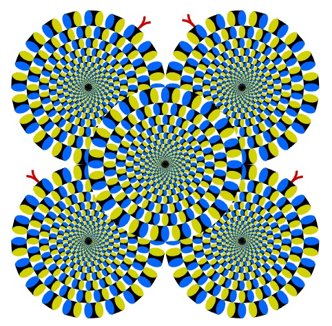 turning wheels 35 Mind Bending Optical Illusions Pictures