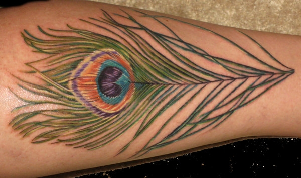 Color Feather For Arm