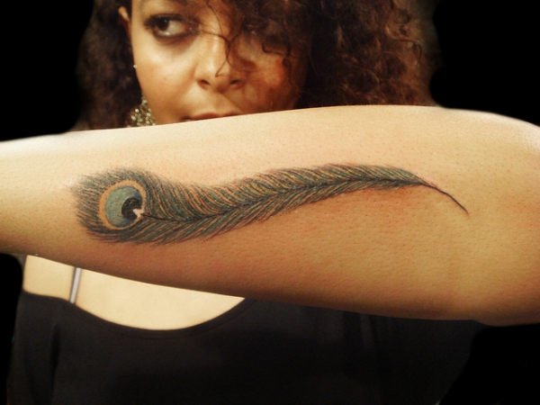 Smart Feather Tattoo