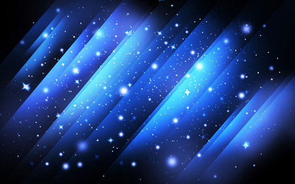 How to create Abstract Starfield Background