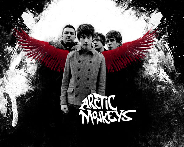 arctic monkeys 35 Awesome Photoshop Background Tutorials