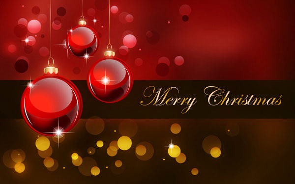 Create a Stunning Merry Christmas Background