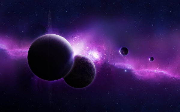 purple universe 30 Splendid Purple Background Collection