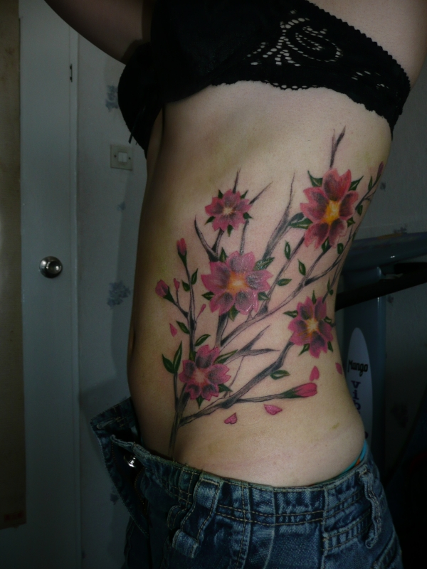 Blooming Flowers Tattoo