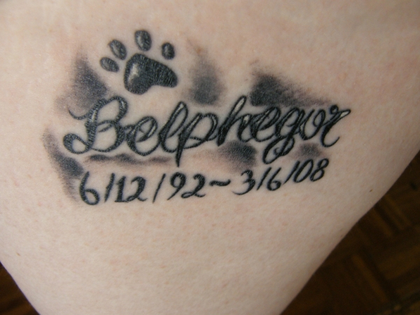 Belphegor Memorial Tattoo