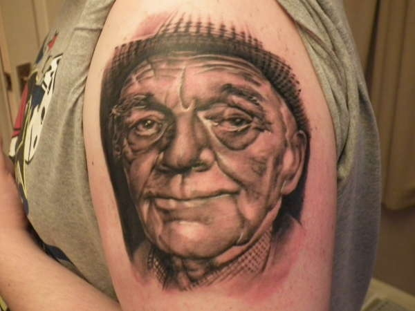 my grandad rip tattoo 25 Rip Tattoos You Should Check Today