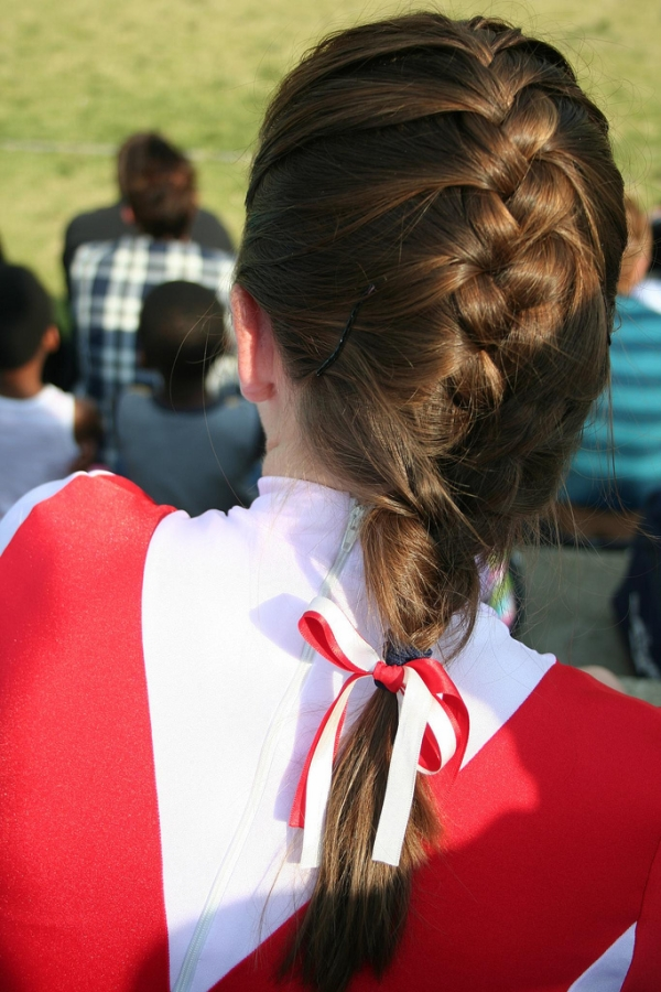Frances's Plait and Ribbons
